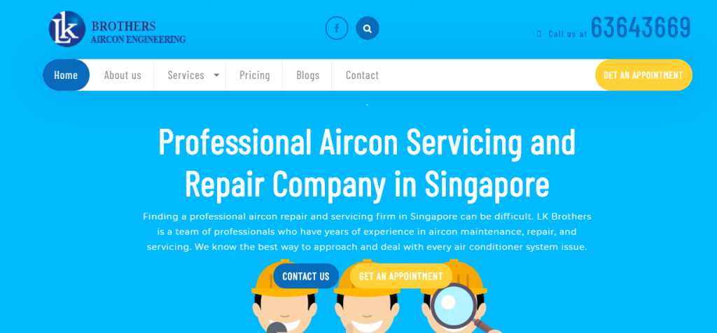 best air conditioner repair in Singpaore