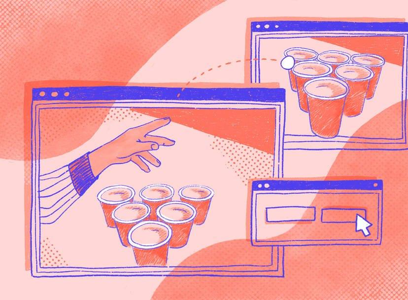 7 Best Online Drinking Games [2021]