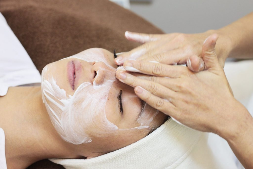 luxury facial spa