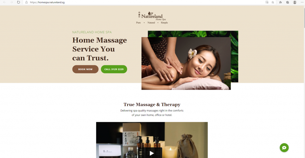 Home Massages in Singapore