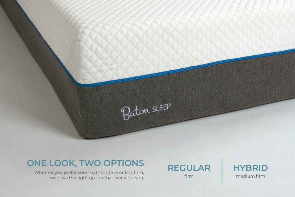 Baton Sleep | Regular and Hybrid Options | Right Option for You | Mattress Singapore
