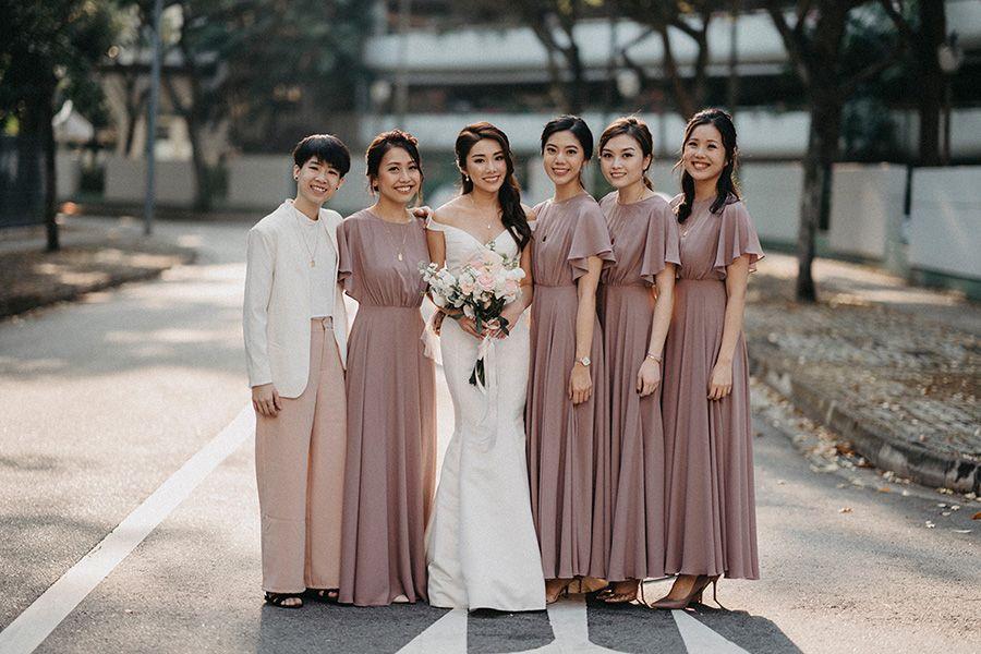 Best 10 Bridesmaid Dresses In Singapore