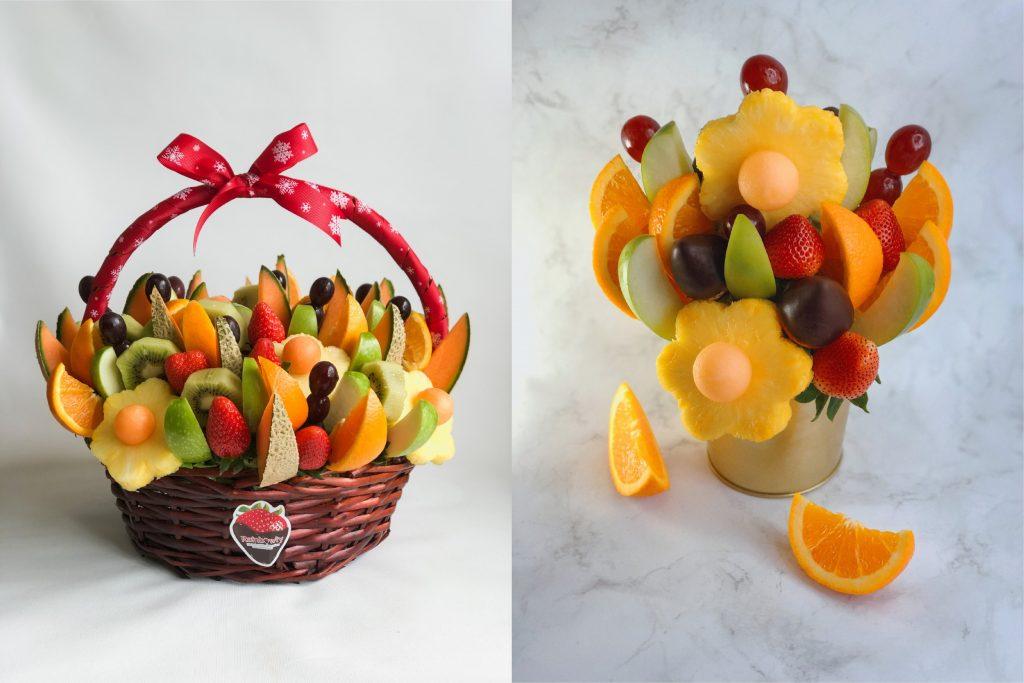 rainbowly fruit basket
