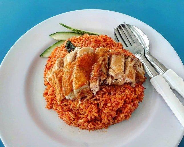 Jefri The Original Botak Chicken Rice food stalls | Taken from burrple