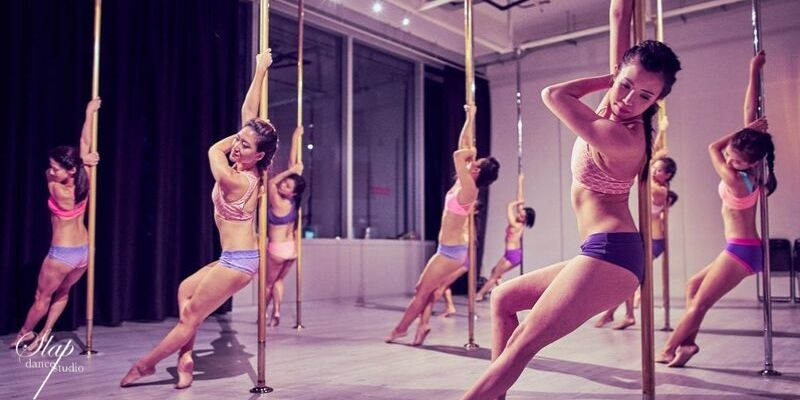 Pole dancing classes | Image taken from Giftano