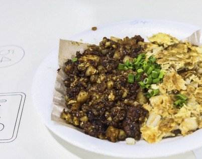 Ang Mo Kio 409 Fried Carrot Cake | Image taken from Trending in Singapore