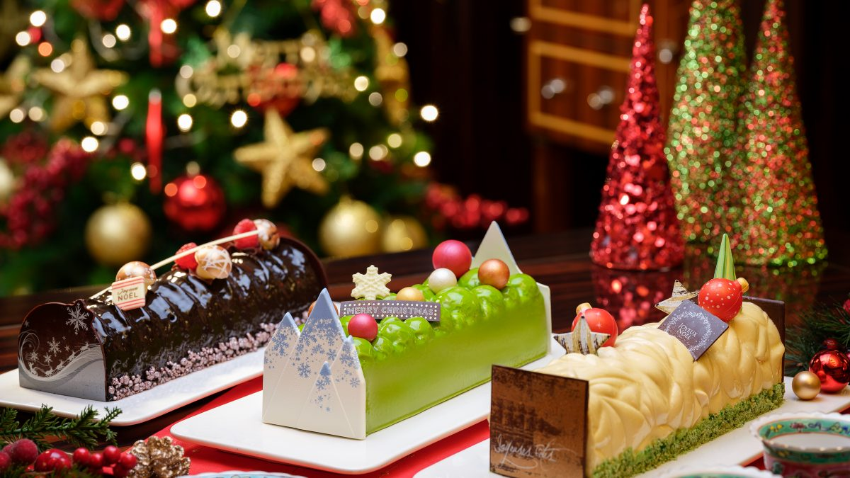 10 Best Christmas Log Cakes in Singapore 2021
