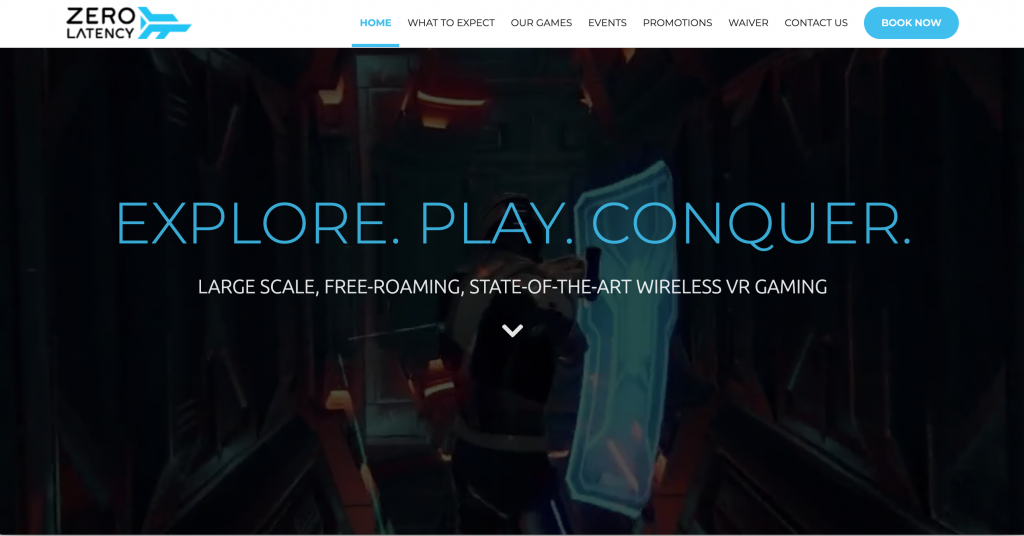 Zero Latency Virtual Reality Arcade in Singapore