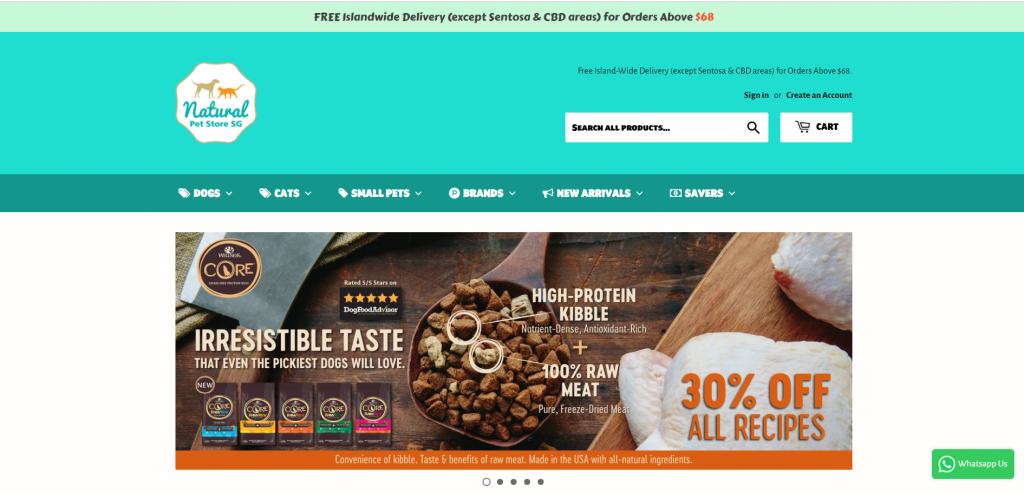 Online Pet Shops Singapore