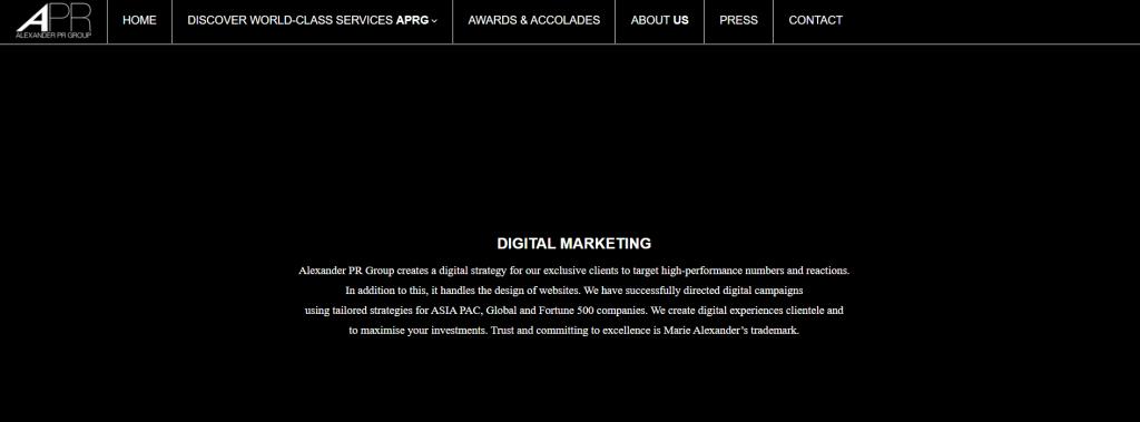 APR Group Digital Marketing