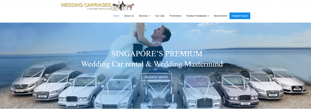 Wedding Carriages - Best in Singapore