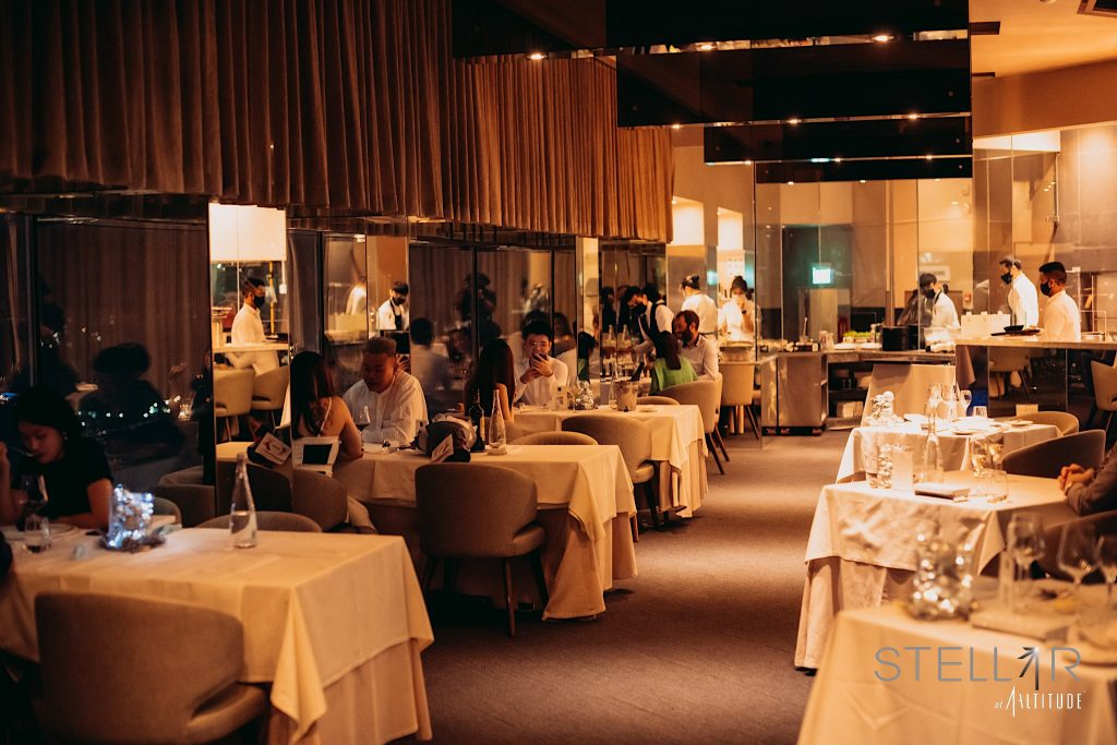 Stellar at 1-Altitude | Best Romantic Restaurants Singapore