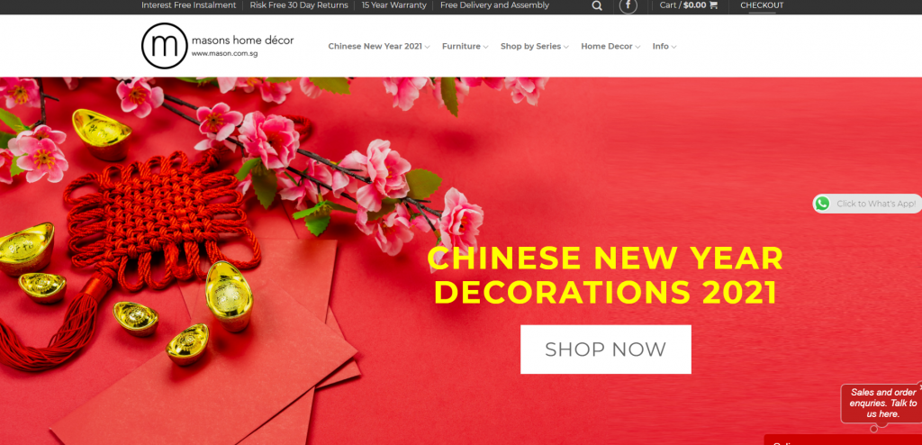 Best Home Decor Services Singapore | Mason Home Decor