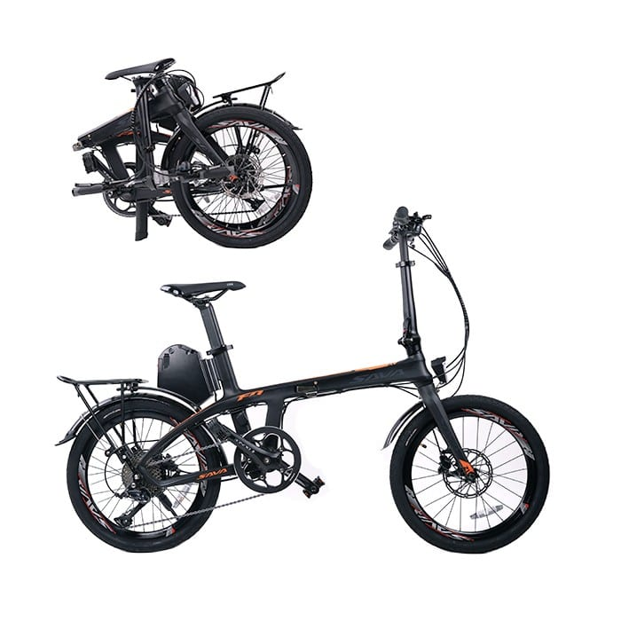 E6 Carbon Fiber Electric Bike