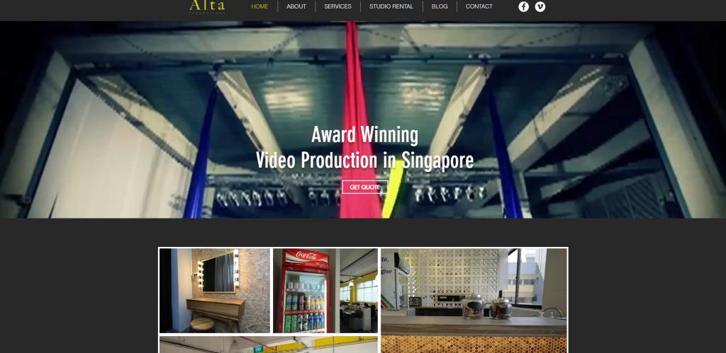 Alta Productions videorapher