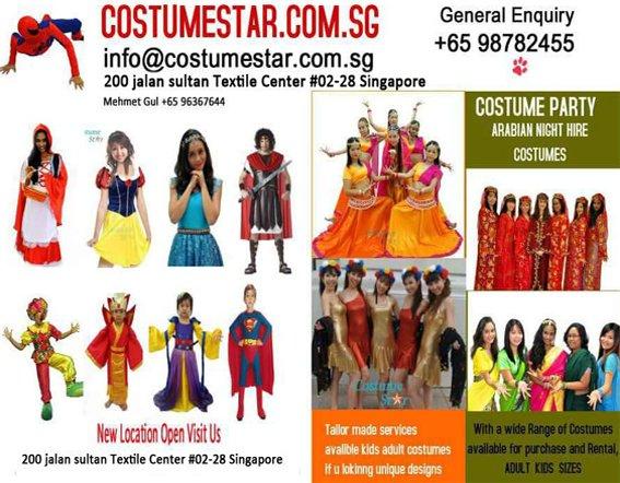 Costume Star - Costume Rentals Singapore