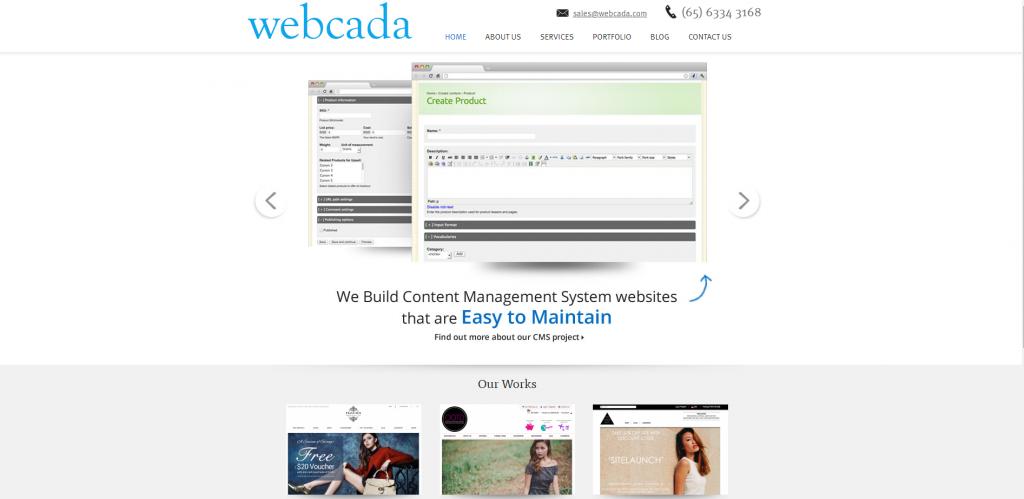Webcada email marketing