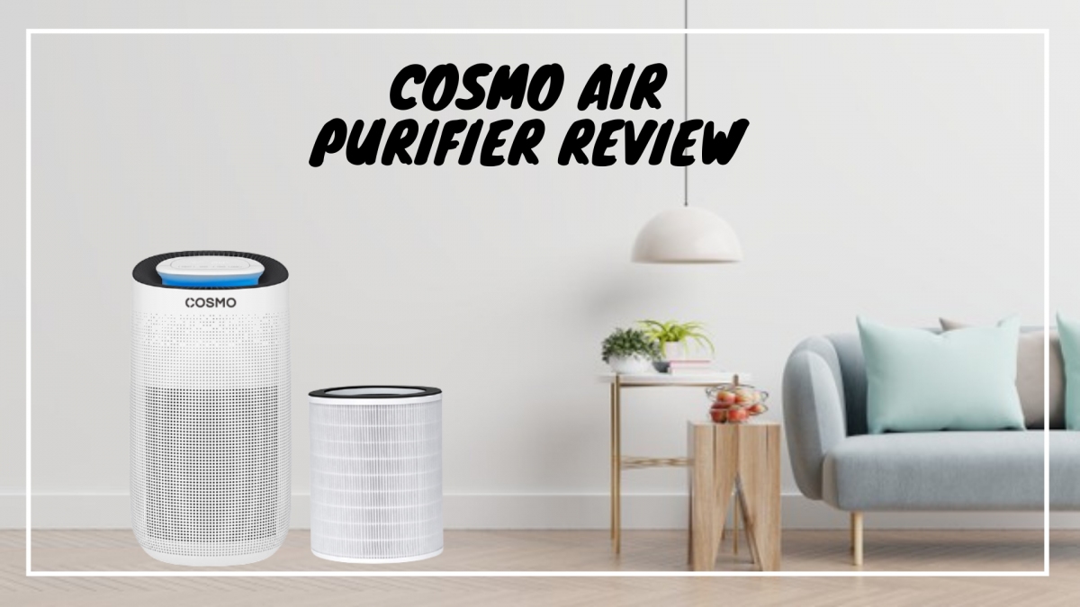[Review] Combat Bad Air Days With COSMO Air Purifier [2021]