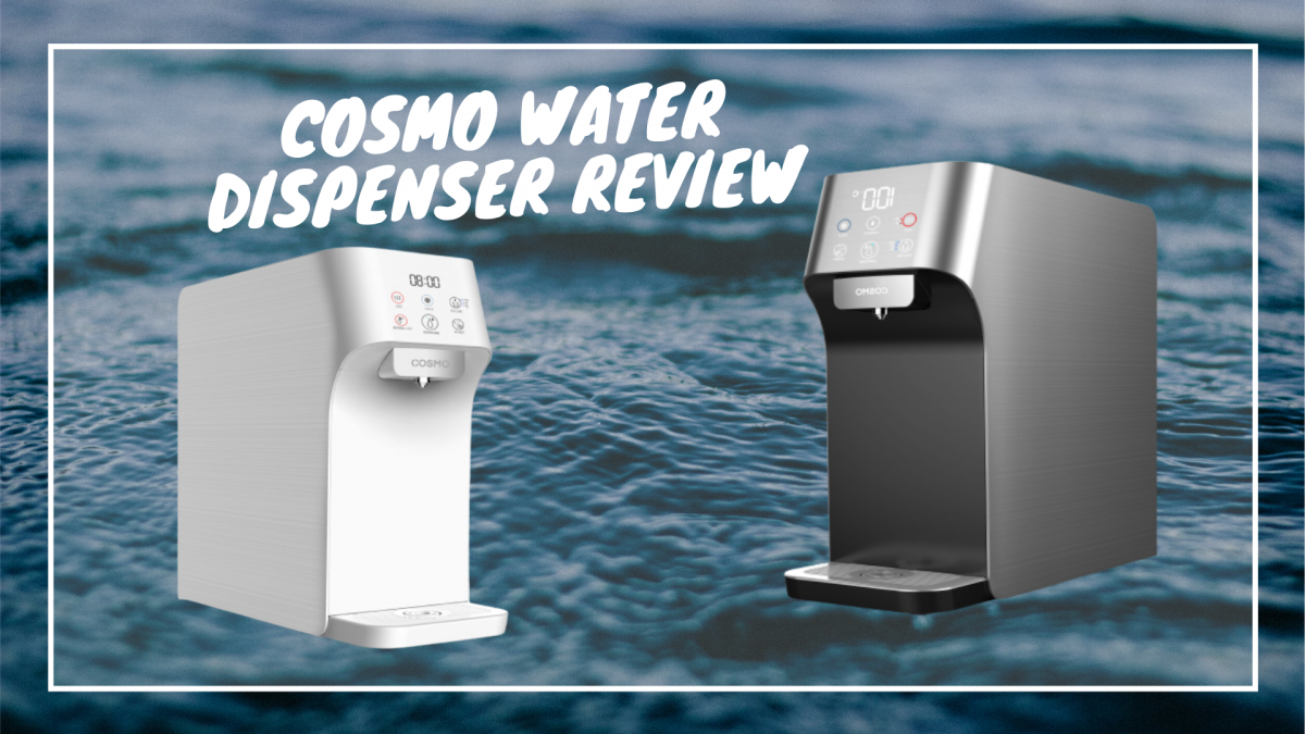 [Review] Health Starts At Home With COSMO Water Dispenser [2021]