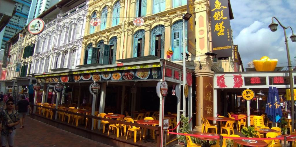 Chinatown Street Market Bazaar Places