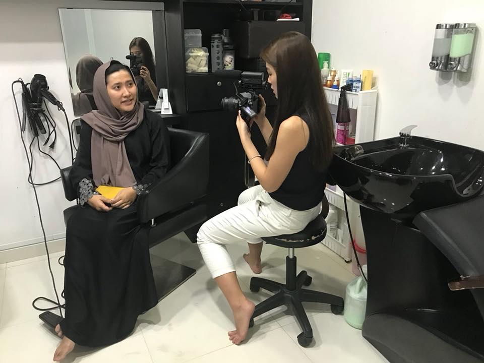 Winn House salon |  Muslimah hair salons